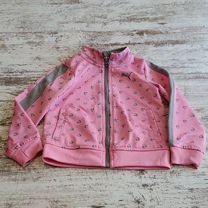 Girls Puma jacket size 24 months